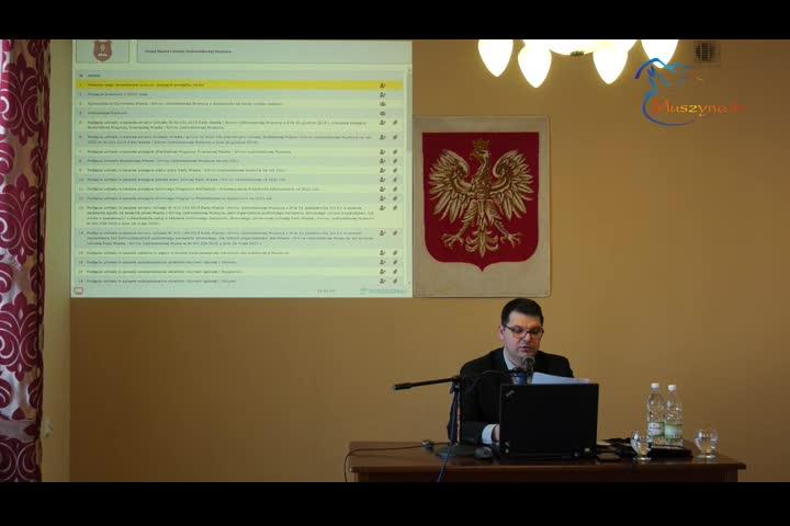XXVIII Sesja Rady Miasta i Gminy Uzdrowiskowej Muszyna
